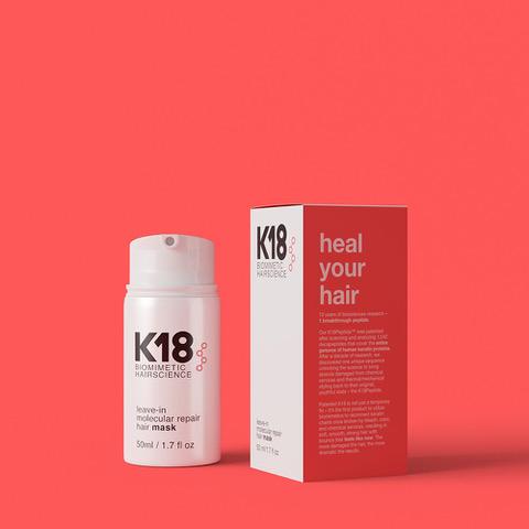 K18 Mask 50ml Box